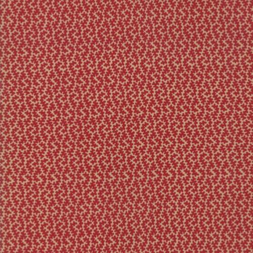Tissu Moda French General Vive La France - Rouge Orleans