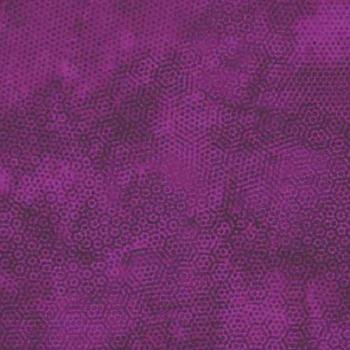 Tissu patchwork Makower Uk - Dimples Faux Uni Raisin