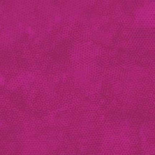 Tissu patchwork Makower Uk - Dimples Faux Uni Fuschia