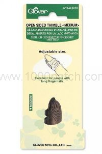 Dé de protection CLOVER ajustable, antitranspirant