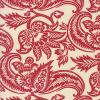 Tissu Moda Madame Rouge - Floral rouge - French General