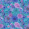Tissu Kaffe Fassett GP172 - Enchanted Blue
