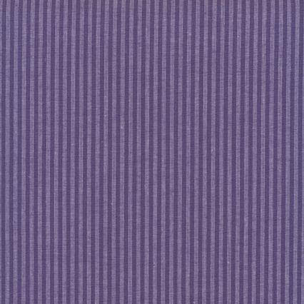 Tissu patchwork STOF country rayures parme et violette