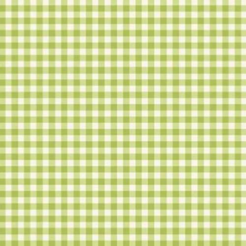 Tissu Patchwork Makower – Vichy Vert  – Tea Party