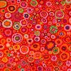 Tissu Kaffe Fassett Rouge - Paper Weight - GP20 Red