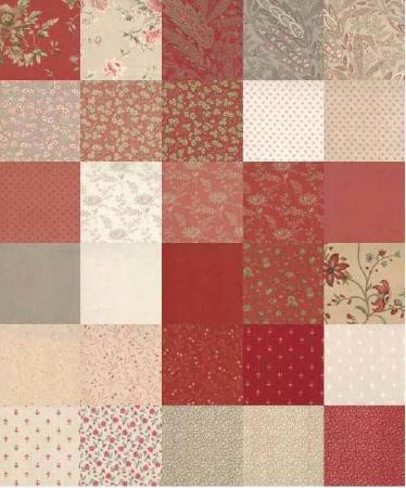 Jelly Roll Quilt Gate - Marron et Caramel