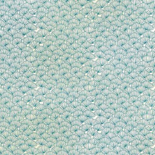 tissu makower japonais pas cher fins motifs bleus collection asami. Black Bedroom Furniture Sets. Home Design Ideas
