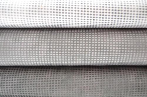 Lot de 3 coupons Patchwork Gris Dit Dot Evolution- 24x55cm