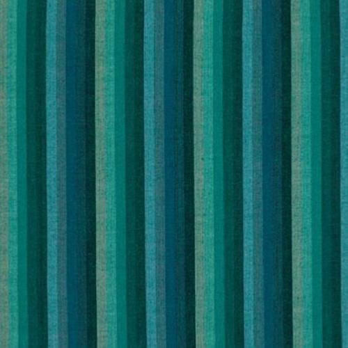 Tissu Kaffe Fassett - Multi Stripe - Deep Sea