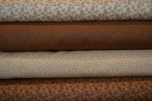 Tissu moda pas cher lot de 4 coupons patchwork 1000patch - Tissu patchwork pas cher ...