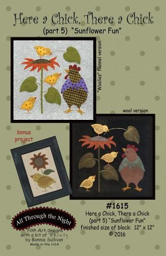 Block Of The Month - BOM Bonnie Sullivan - Here a Chick- block 5