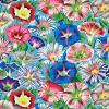 Tissu Patchwork Kaffe Fassett  - Morning Glory - PJ098 Aqua