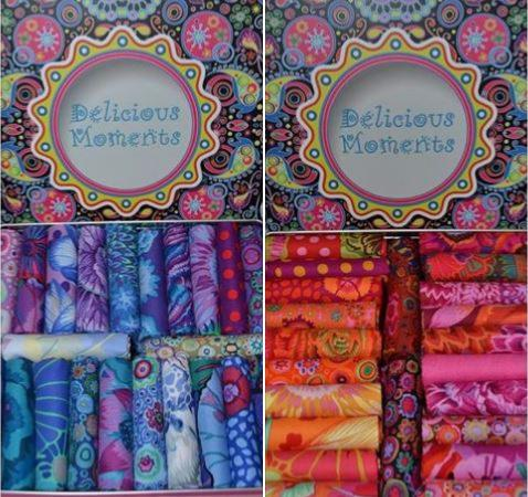 coffret de 22 coupons kaffe Fassett