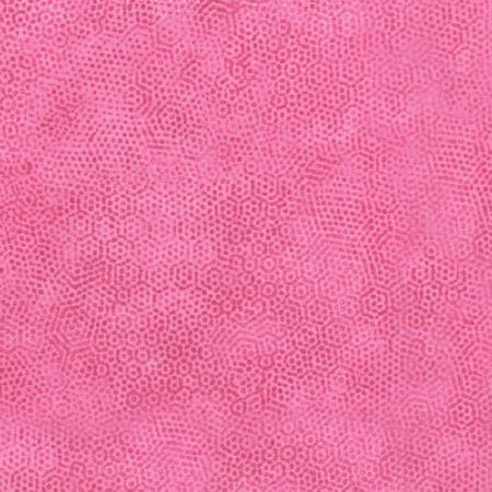 Tissu patchwork Makower Uk - Dimples Faux Uni Rose