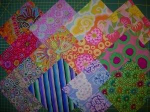 lot de 12 coupons tissu patchwork assortis kaffe fassett