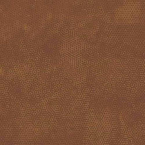 Tissu patchwork Makower Uk - Dimples Faux Uni Noisette