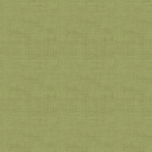 Tissu patchwork Makower -Texture lin Olive - Collection Linen