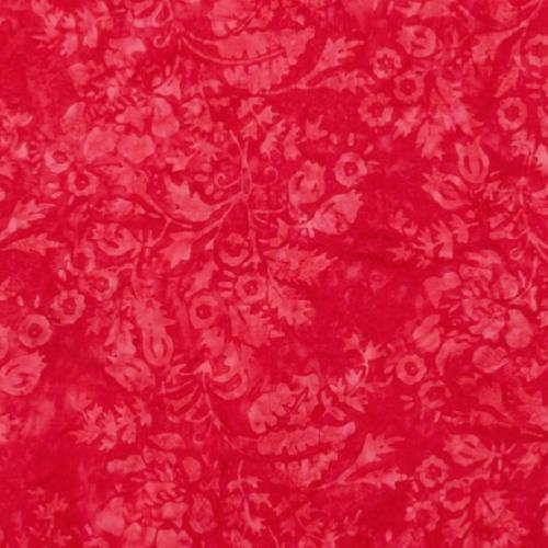 Fat de Tissu patchwork batik rouge magenta - A Splash of Color - Edyta Sitar