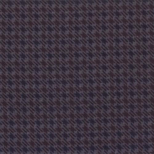 Tissu Flanelle - Coloris Denim - Moda Wool and Needle