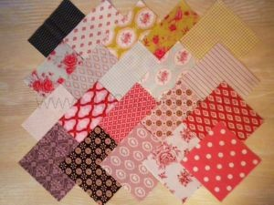 lot de 20 coupons tissus patchwork TILDA